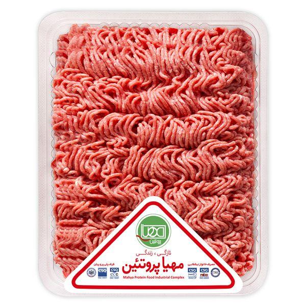 گوشت چرخ کرده گوساله ممتاز مهیا پروتئین مقدار 0.5 کیلوگرم