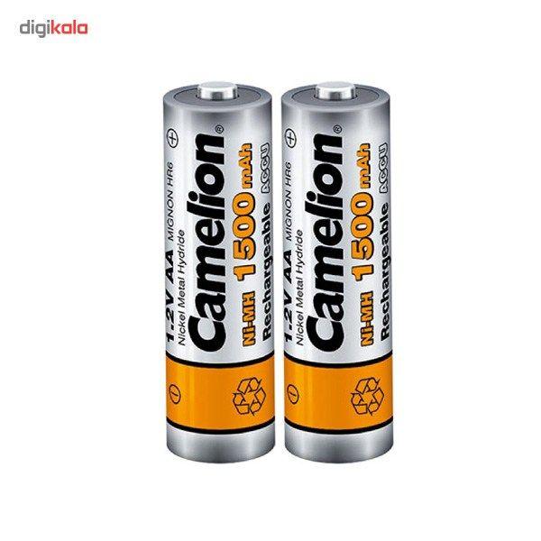 باتری قلمی قابل شارژ کملیون مدل ACCU 1500mAh بسته 2 عددی main 1 2