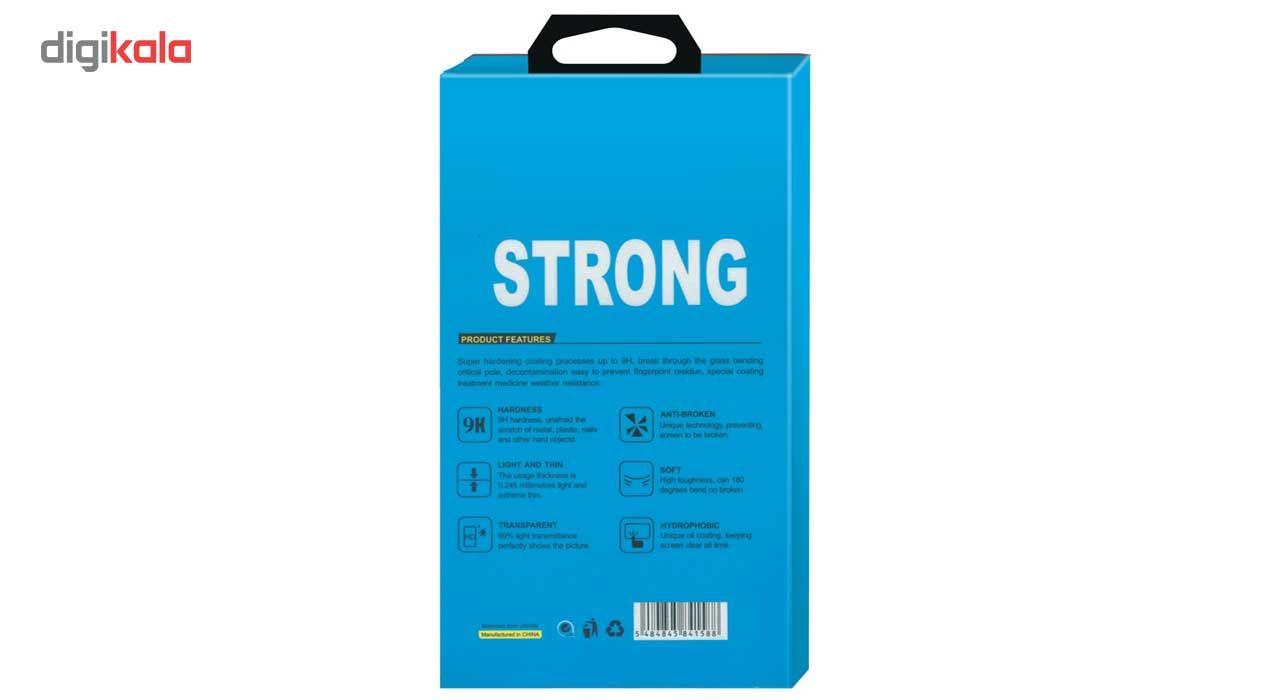 محافظ صفحه نمایش شیشه ای تمپرد مدل Strong مناسب برای گوشی نوکیا Lumia 635 main 1 3