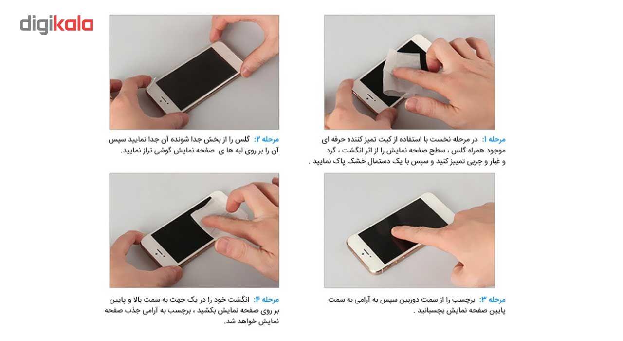 محافظ صفحه نمایش شیشه ای تمپرد مدل Strong مناسب برای گوشی نوکیا Lumia 635 main 1 4