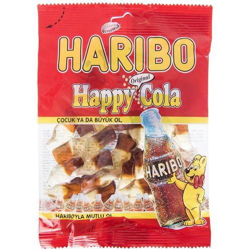 پاستیل هاریبو مدل Happy Cola مقدار 130 گرم