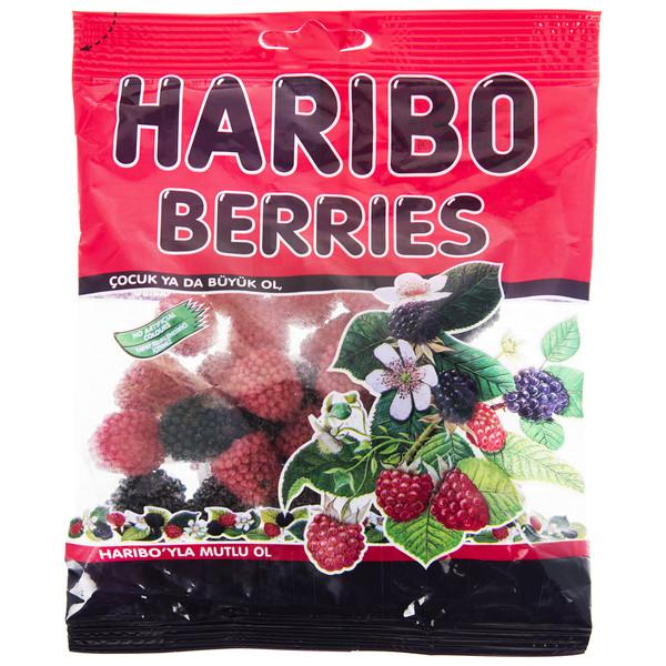 پاستیل هاریبو مدل Berries مقدار 130 گرم