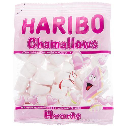 مارشمالو هاریبو مدل Heart Chamallows مقدار 150 گرم