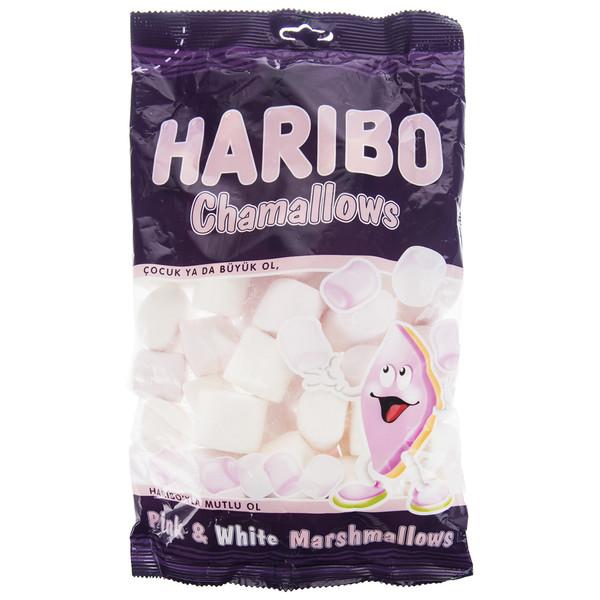 مارشمالو هاریبو مدل Chamallows مقدار 300 گرم