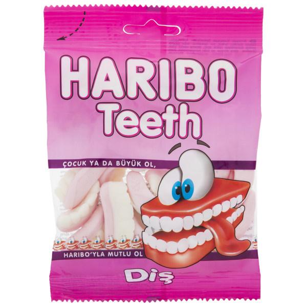 پاستیل هاریبو مدل Teeth مقدار 70 گرم