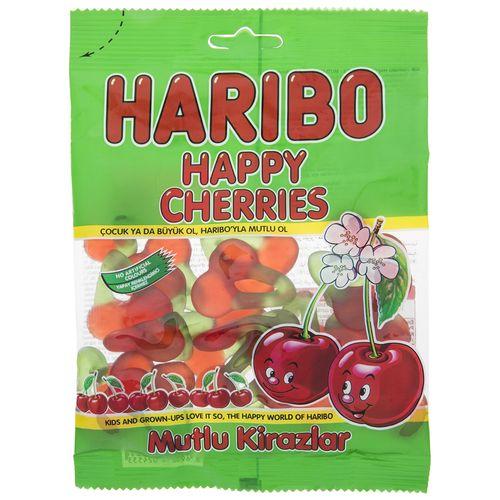 پاستیل هاریبو مدل Happy Cherries مقدار 130 گرم