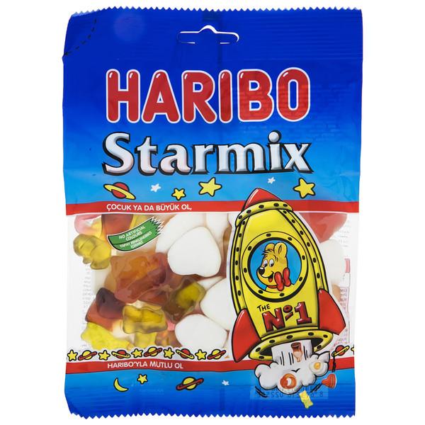 پاستیل هاریبو مدل Starmix مقدار 130 گرم