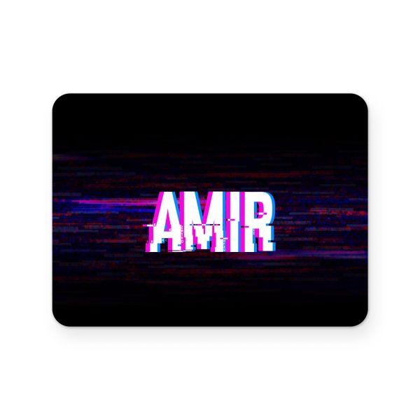برچسب تاچ پد دسته پلی استیشن 4 ونسونی طرح AMIR