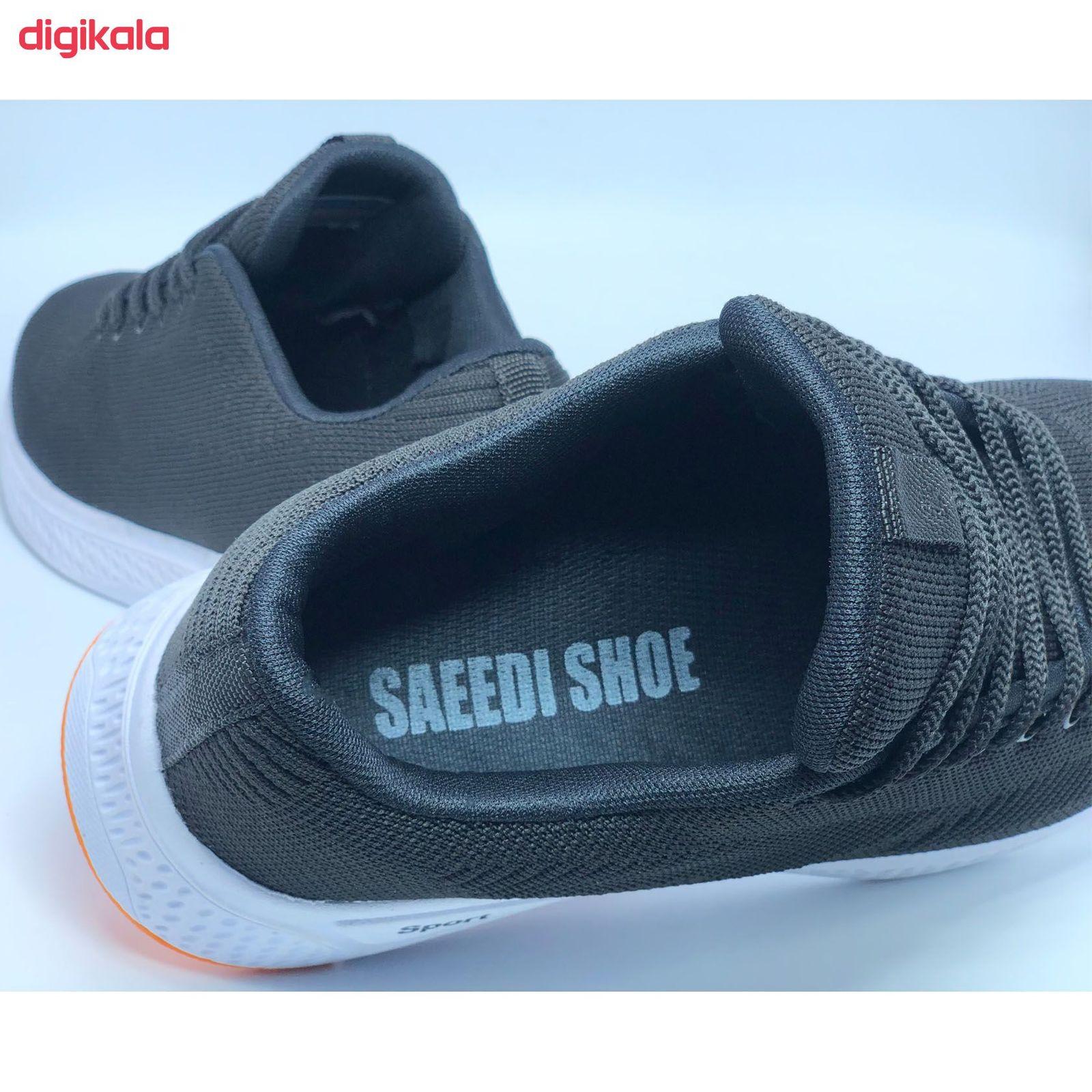 کفش مخصوص پیاده روی مردانه کفش سعیدی کد MU110 -  - 11