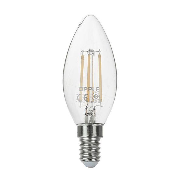 لامپ فیلامنتی 4 وات اپل مدل E C35 پایه E14
