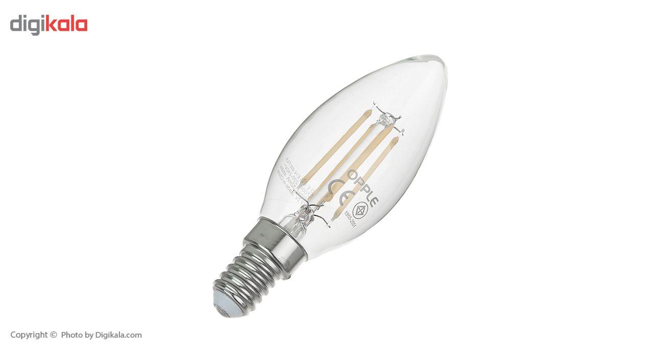 لامپ فیلامنتی 4 وات اپل مدل E C35 پایه E14 main 1 2