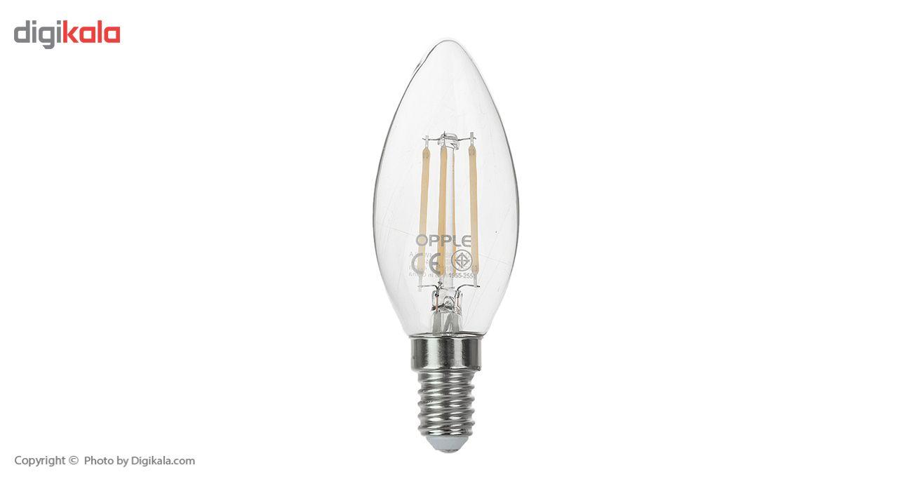 لامپ فیلامنتی 4 وات اپل مدل E C35 پایه E14 main 1 1