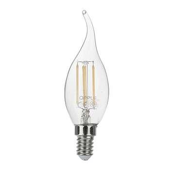 لامپ فیلامنتی 4 وات اپل مدل E F35 پایه E14