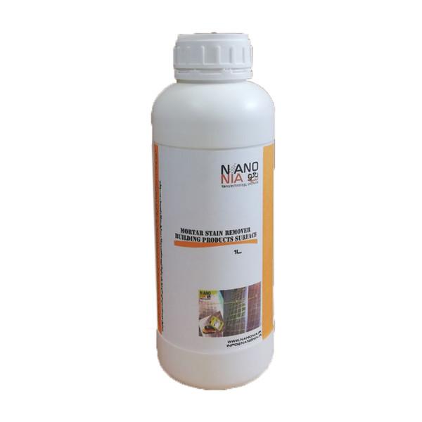 محلول پاک کننده لکه های سیمانی و گچی نانونیا مدل n8 حجم ۱ لیتری