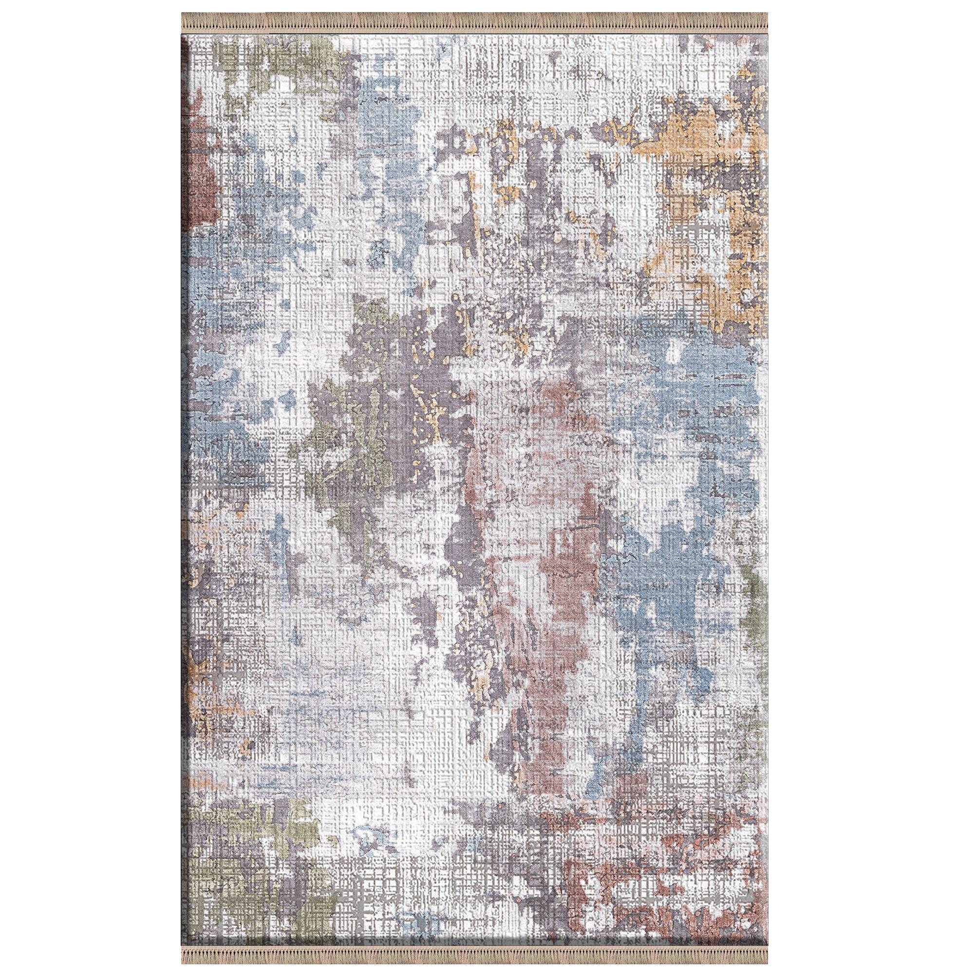 فرش پارچه ای مدل ترمز دار طرح پتینه