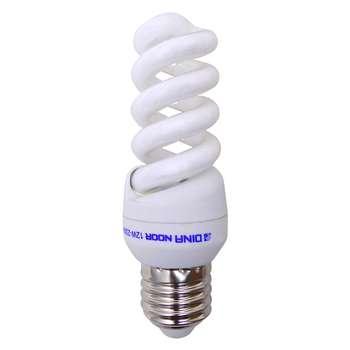 لامپ کم مصرف 12 وات دینا نور پایه E27