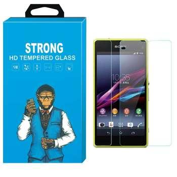 محافظ صفحه نمایش شیشه ای تمپرد مدل Strong مناسب برای گوشی سونی اکسپریا Z1 Compact