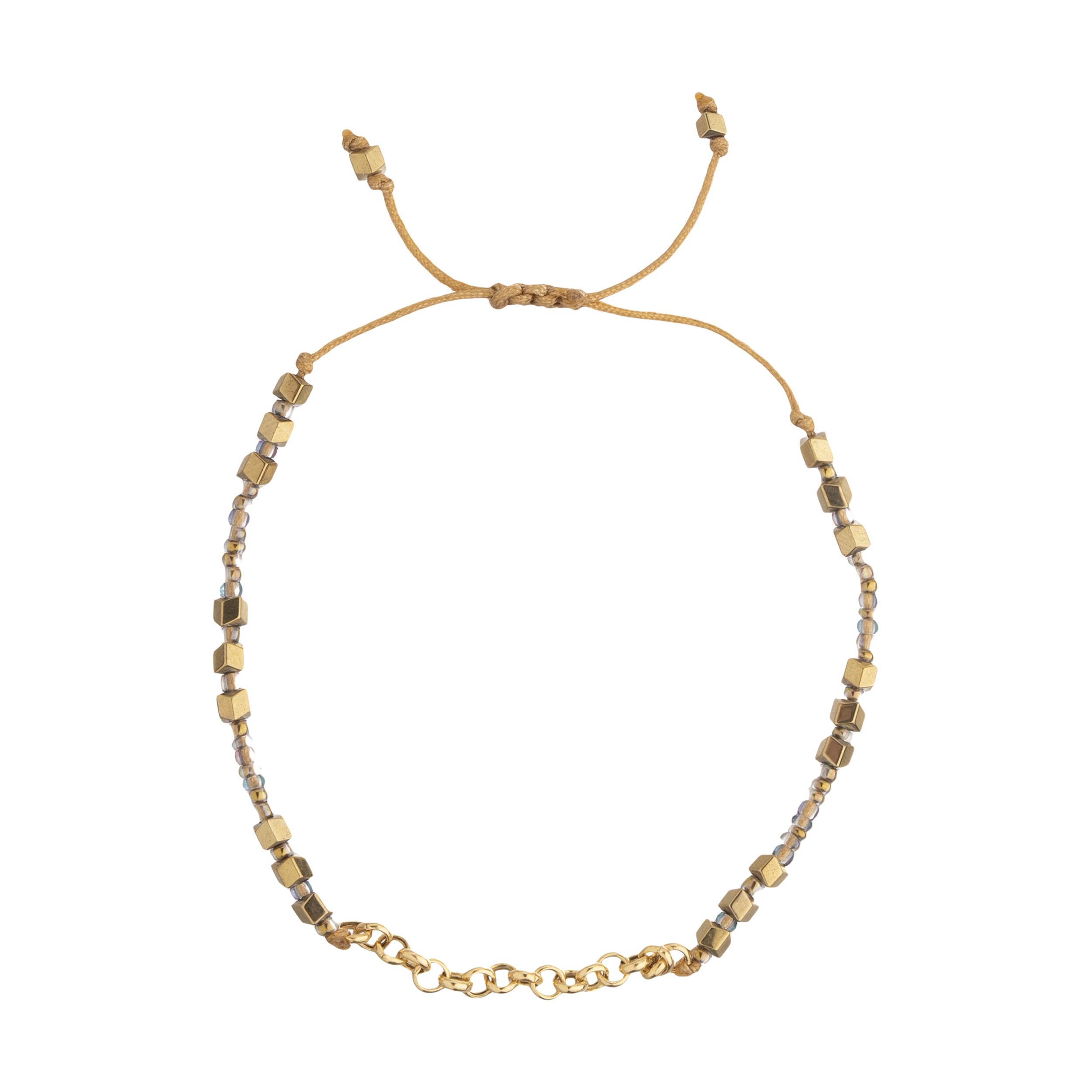 دستبند طلا 18 عیار زنانه سنجاق مدل X092204