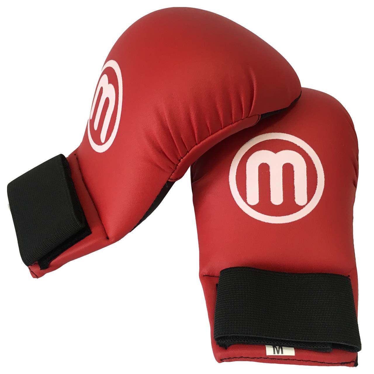 دستکش کاراته مان اسپورت مدل SW1604 سایز متوسط قرمز