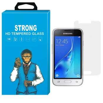 محافظ صفحه نمایش شیشه ای تمپرد مدل Strong مناسب برای گوشی سامسونگ گلکسی J1 Mini Prime