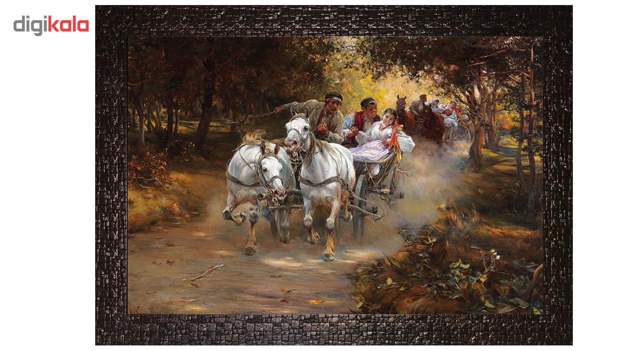 تابلو گالری هنری پیکاسو طرح عروس روستایی کد M167