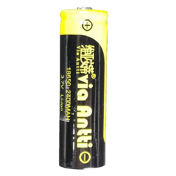 باتری شارژی مدل 18650 ویا آنتی