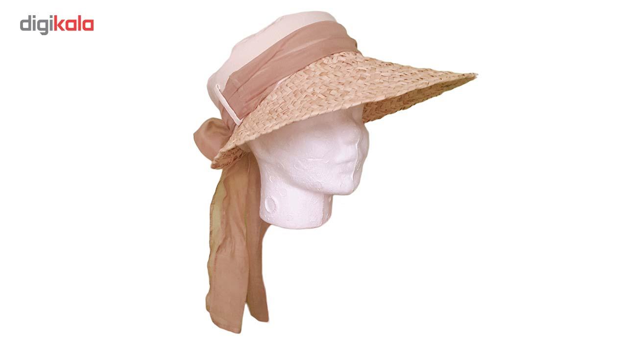 کلاه آفتابی حصیری اکوسبدکو مدل likh125