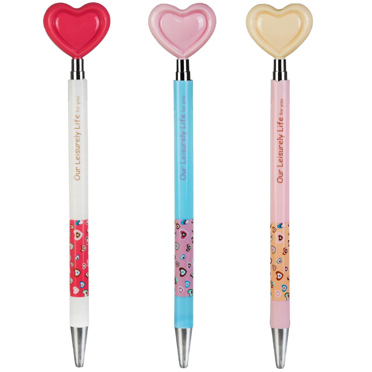 خودکار فشاری مدل ballpoint pen بسته 3 عددی