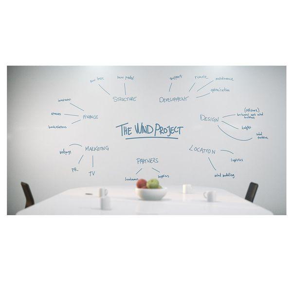 روکش وایت برد مدل آنتی رفلکس نانو سایز  122×50 سانتی متر   Nano Anti Reflex White Board Film
