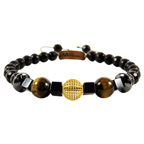 دستبند طلا 18عیار مانچو مدل bfg571