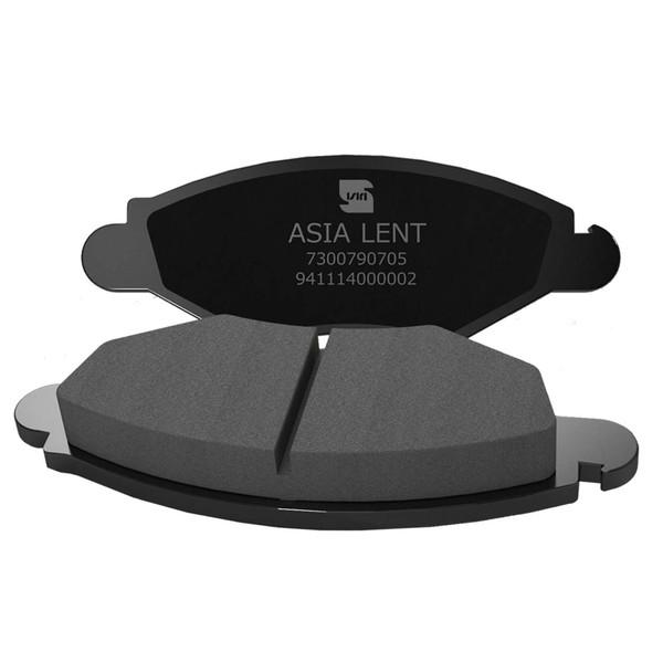 لنت ترمز جلو آسیا لنت مدل 23205 مناسب برای پژو 206 تیپ 2