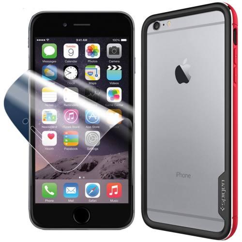 مجموعه کاور و محافظ صفحه نمایش اسپیگن شماره 5 مناسب برای گوشی موبایل آیفون 6 پلاس