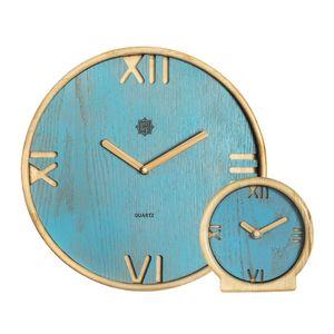 ست ساعت دیواری و رومیزی کد BSU00