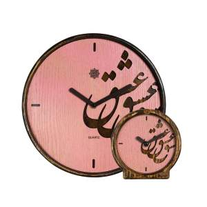 ست ساعت دیواری و رومیزی کد DSE00