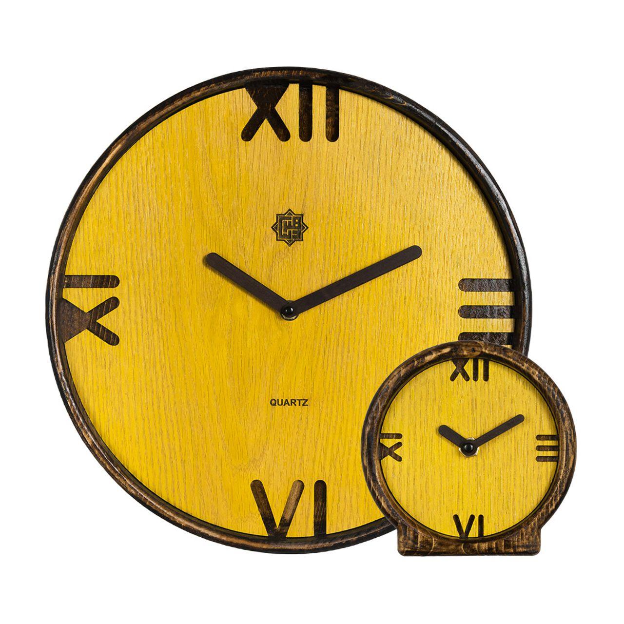 ست ساعت دیواری و رومیزی کد DSU00