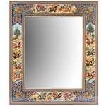 آینه رومیزی با قاب خاتم کاری  گالری مثالین کد 141222
