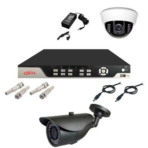 سیستم امنیتی نظارتی دوربین مداربسته هگزا 404AF