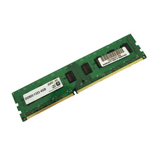رم دسکتاپ DDR3 تک کاناله 1333 مگاهرتز اکستروم ظرفیت 4 گیگابایت