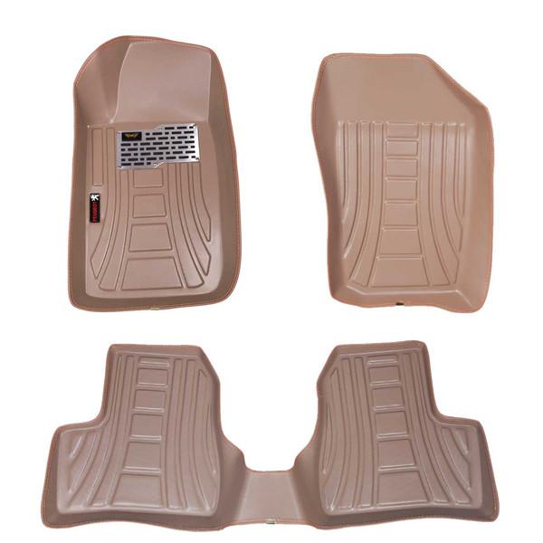 کفپوش سه بعدی خودرو ماهوت مدل اکو مناسب برای 206-207