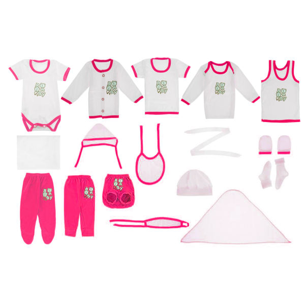 ست لباس نوزادی 19 تکه چیکو مدل بیبی لاو |