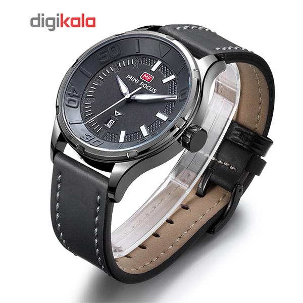 خرید ساعت مچی عقربه ای مردانه مینی فوکوس مدل mf0008g.04