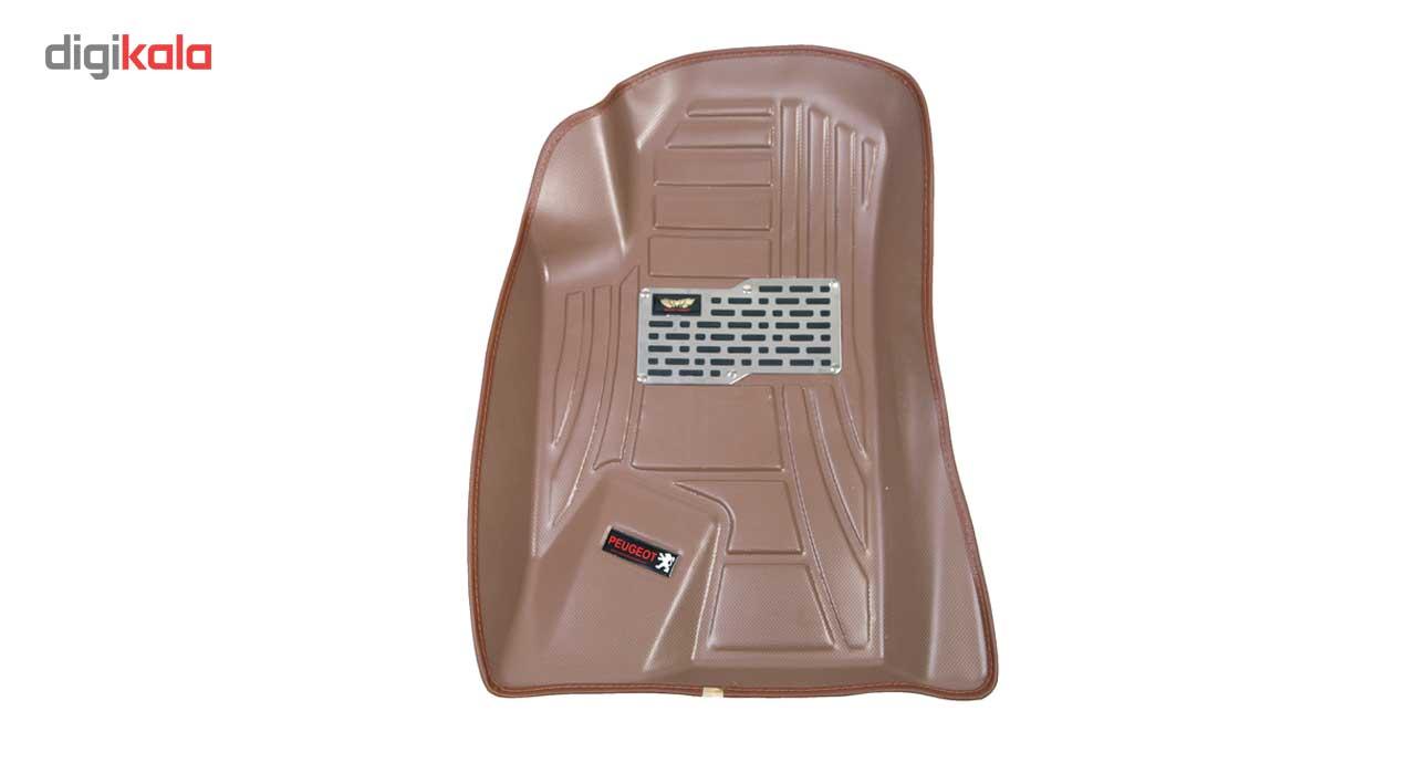 کفپوش سه بعدی خودرو ماهوت مدل اکو مناسب برای پژو 405