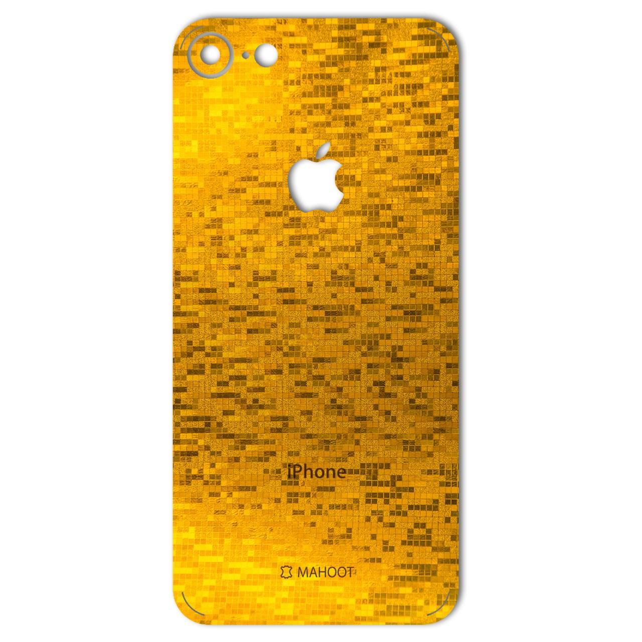 برچسب پوششی ماهوت مدل  Gold-pixel Special مناسب برای گوشی iPhone 7