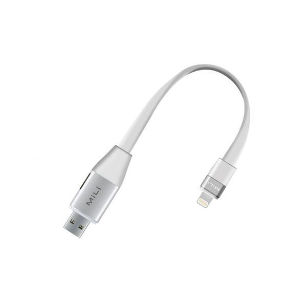 کابل تبدیل USB به لایتنینگ میلی مدل HI-D72 طول 0.2 متر
