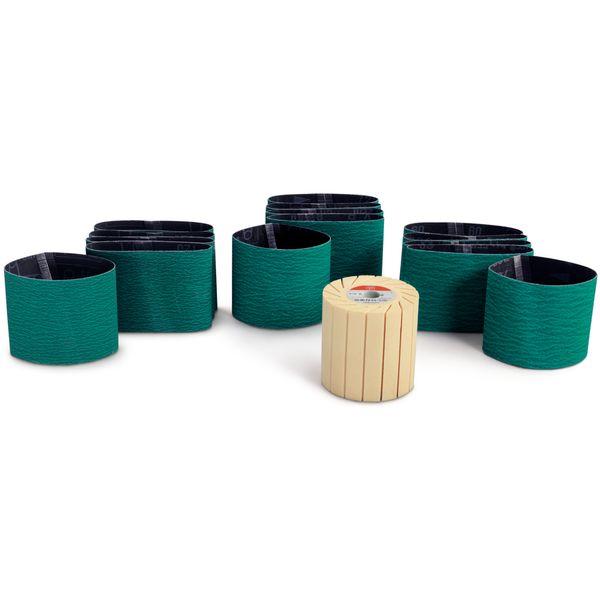 ست سنباده زنی سطوح استیل (ضد زنگ) فاین مدل 63806192020 | FEIN Stainless Steel Set for Grinding Surfaces