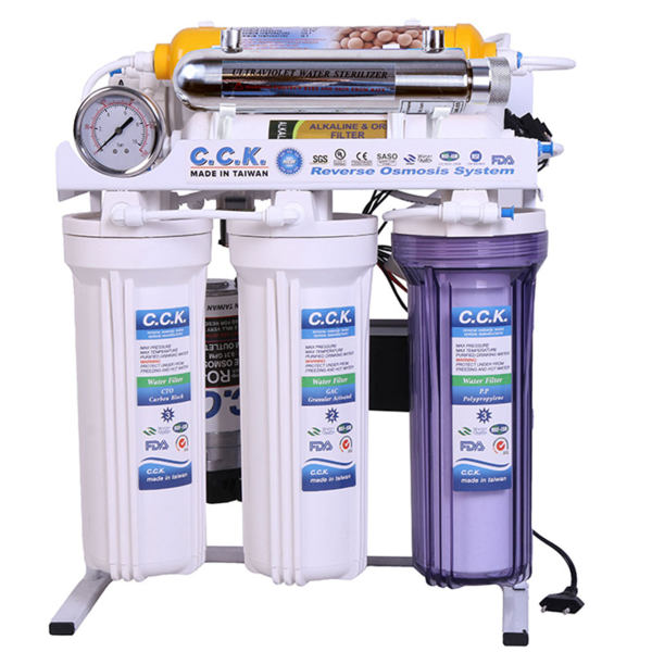 دستگاه تصفیه کننده خانگی سی سی کا مدل RO8-ORP-UV