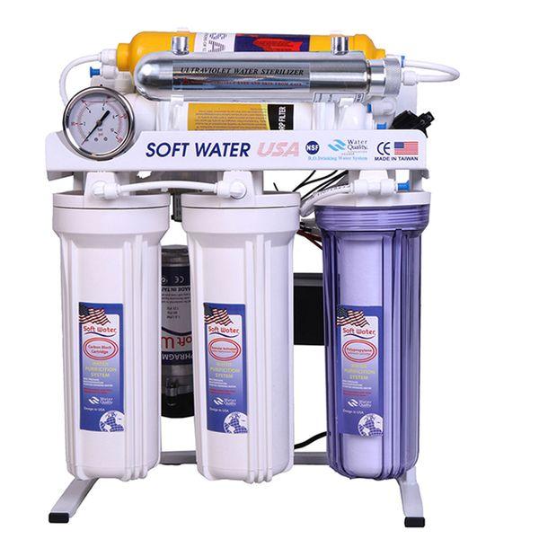 تصفیه آب خانگی 8 مرحله ای آکوا پرو قلیایی فرابنفش اسمز معکوسRO8-ORP-UV | Aqua Pro Ro 8 Stage Orp Uv Water Purifier