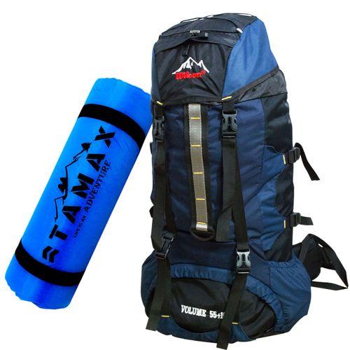 کوله پشتی کوهنوردی و زیرانداز تامکس مدل 02