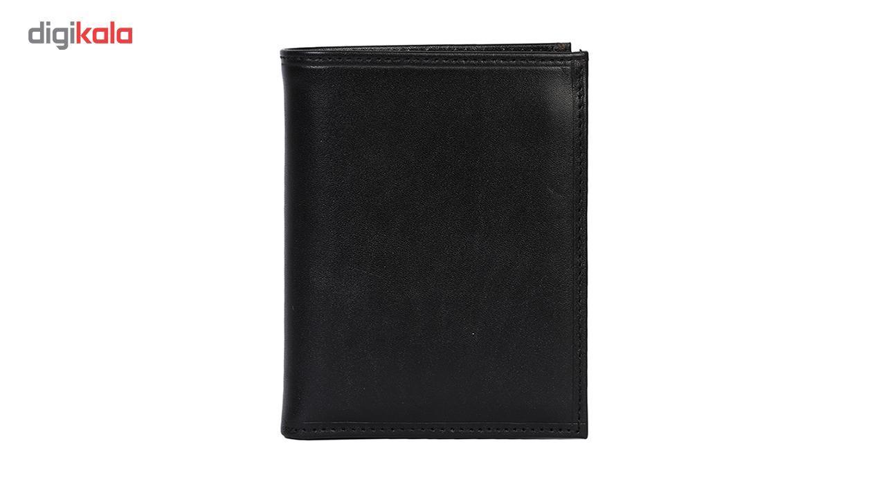کیف پول جیبی مردانه رویال چرم مدل M10-Black main 1 1