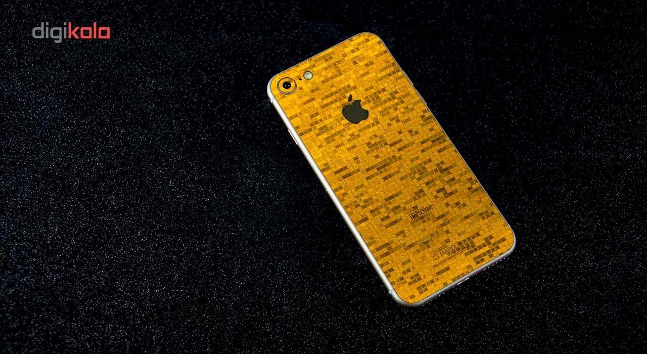 برچسب پوششی ماهوت مدل  Gold-pixel Special مناسب برای گوشی iPhone 7 main 1 3